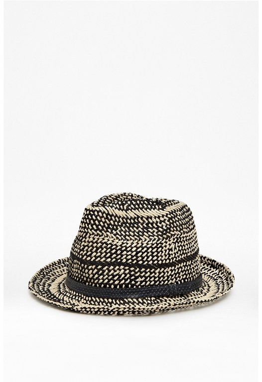 Cali Two-Tone Weave Trilby