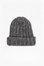 Looks Great With Chunky Knit Tuffy Beanie Hat