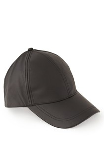 Rosie Faux Leather Cap