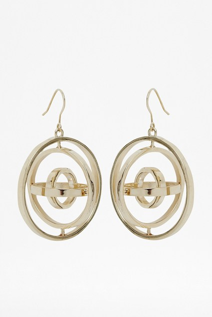 Gimbal Spinning Earrings
