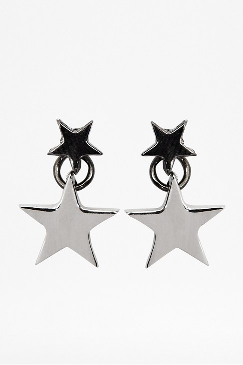 Layered Stars Earrings