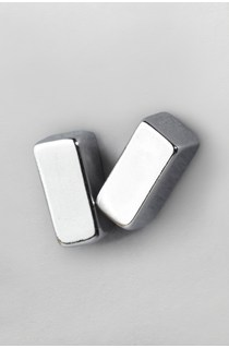 Cuboid Stud Earrings