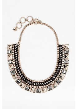 Mixed Chain Pyramid Collar