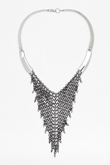 Chainmail Drop Collar