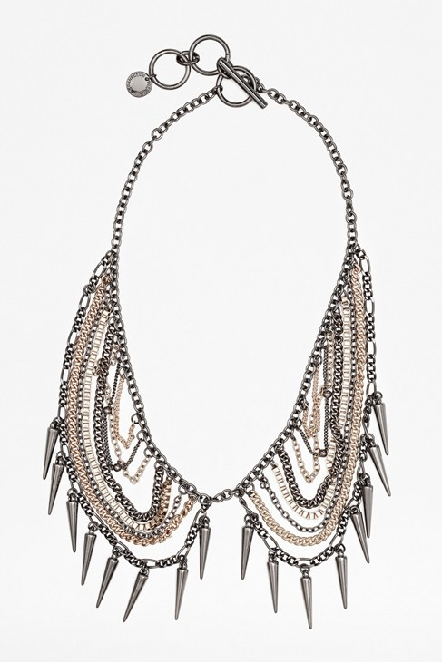 Chain and Spike Collar
