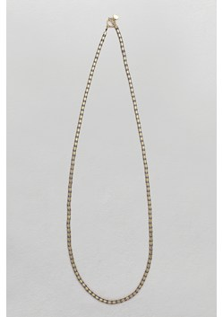 Pearl & Tube Rope Necklace