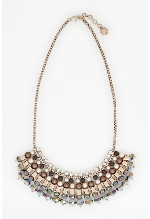 Ombre Box Chain Necklace