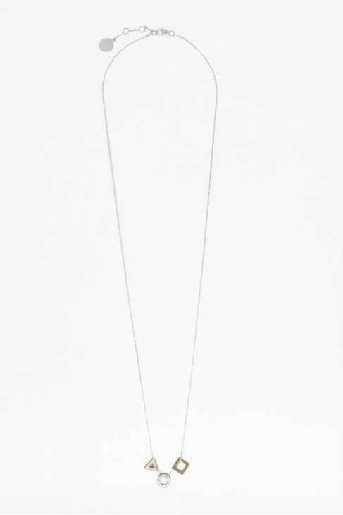 Square Circle Triangle Pendant