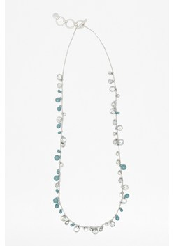 Multistone Enamel Necklace