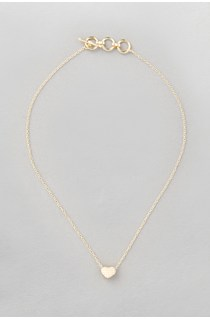 Studded Heart Ditsy Necklace