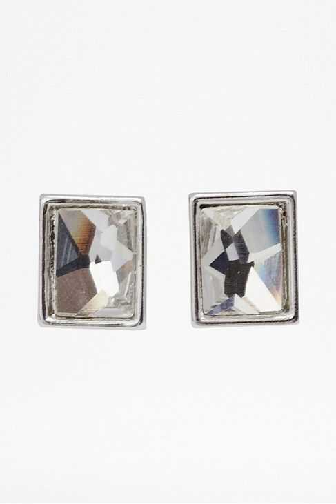 Swarovski Rectangle Earrings