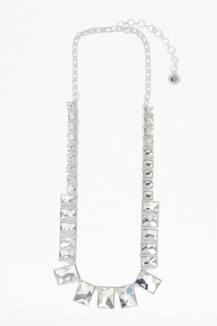 Swarovski Rectangle Necklace