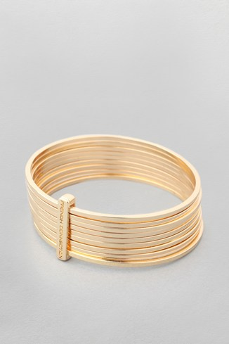 Metal Bangle Stack