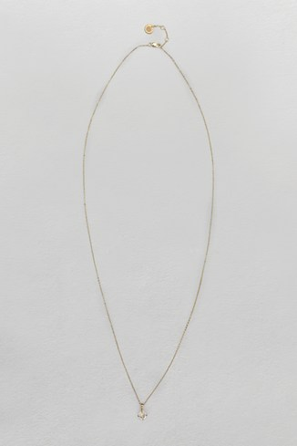 Crystal Ditsy Long Necklace