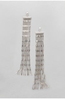 Statement Fringed Earrings