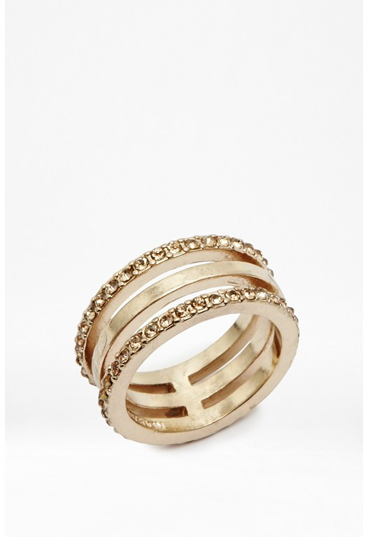 Triple Band Ring