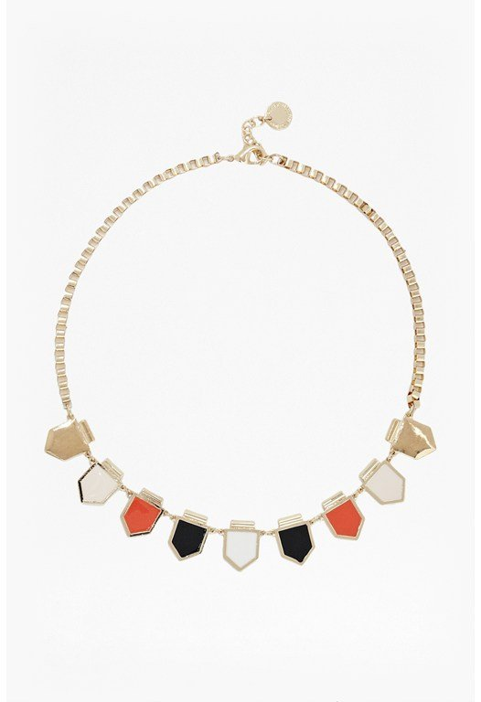 Enamel Arrowhead Necklace