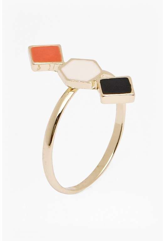 Triple Geometric Ring