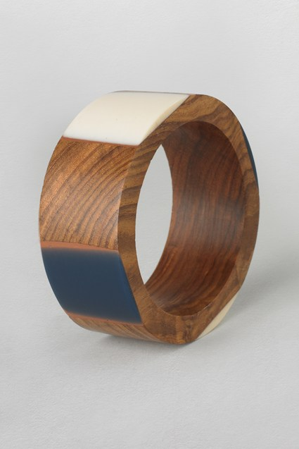 Resin Wood Bangle