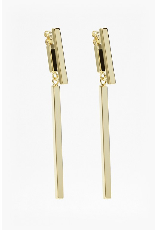 Modern Bar Drop Earrings