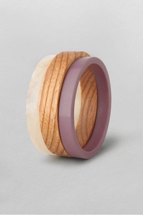 Wooden Bangle Set