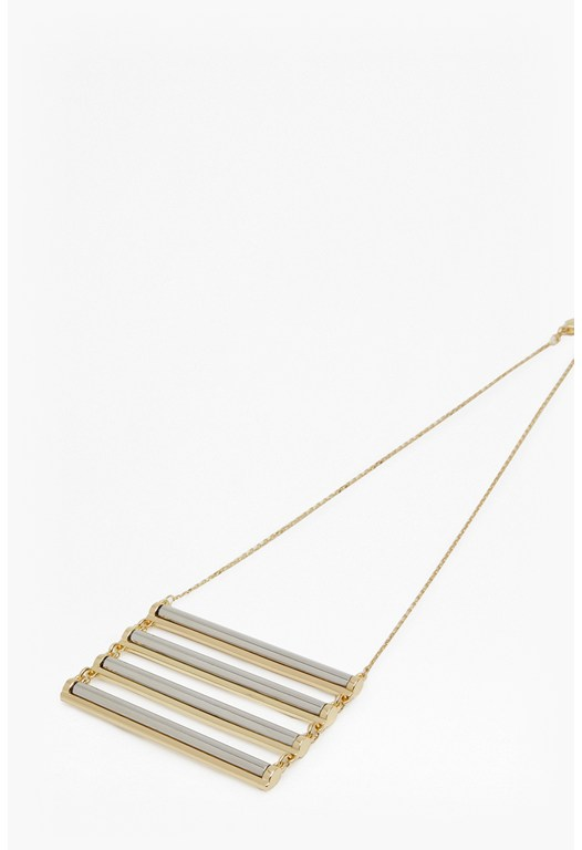 Candy Stick Ladder Necklace