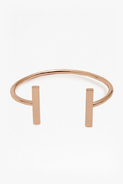 Rectangle Bar Cuff Bracelet