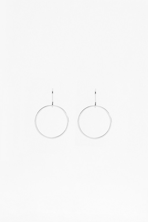 Complete the Look Core Thin Circle Hoop Earrings