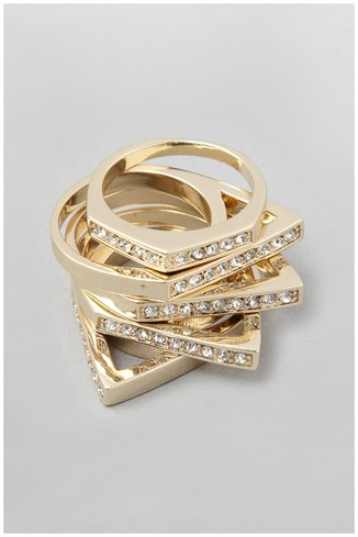Geometric Stack Ring Set