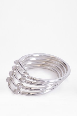 Linked Metal Bangles