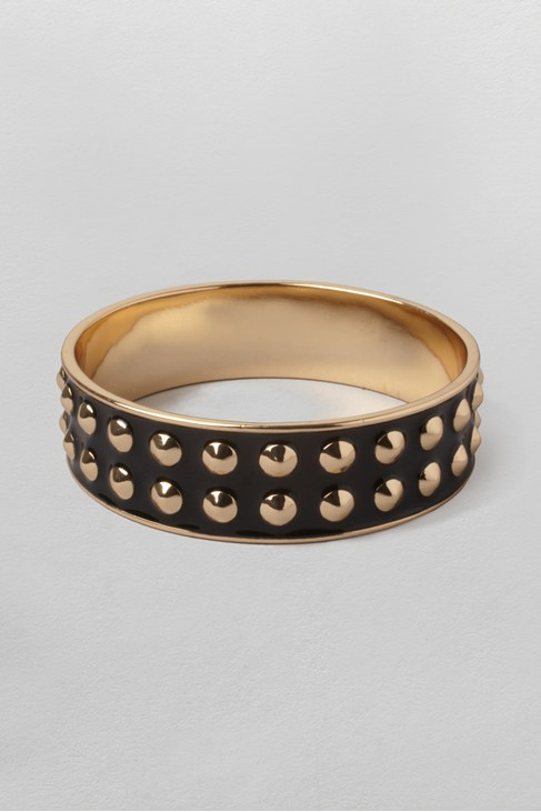 Enamel Stud Bangle