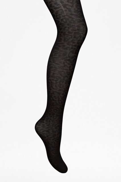 Animal Print Tights