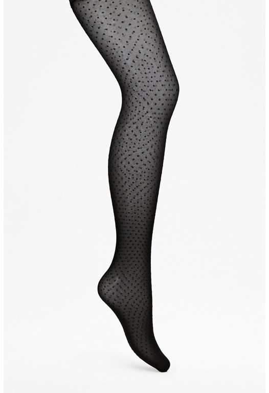 Dotty Lace Tights
