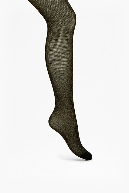 Emily Sheer Lurex Tights