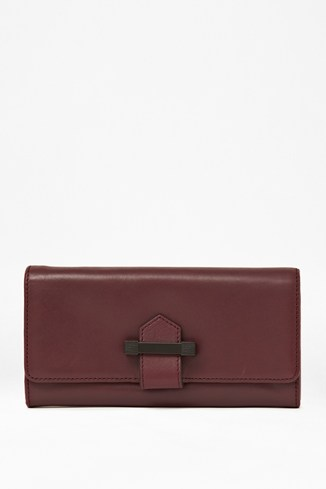 Get Your Kicks Large Leather Wallet