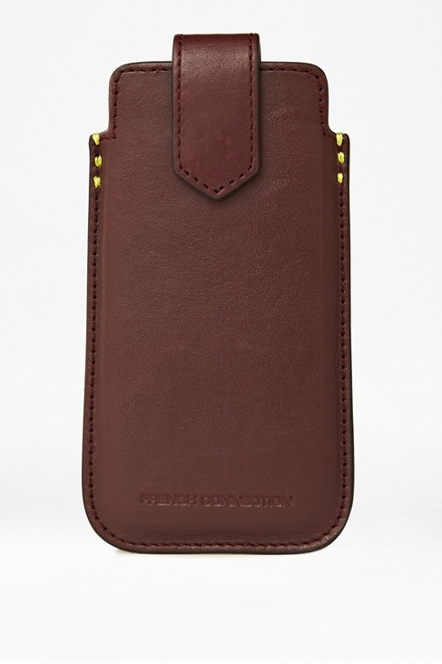 Get Your Kicks Leather Phone Case