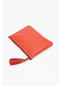 Tassel Leather Pouch