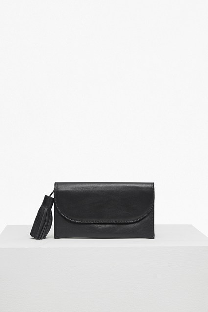 Henrietta Plain Leather Wallet