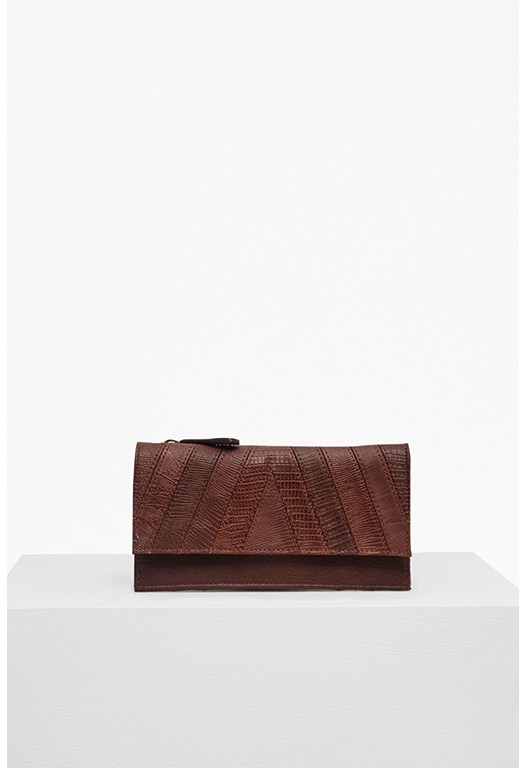 Patchwork Pranita Faux Leather Wallet