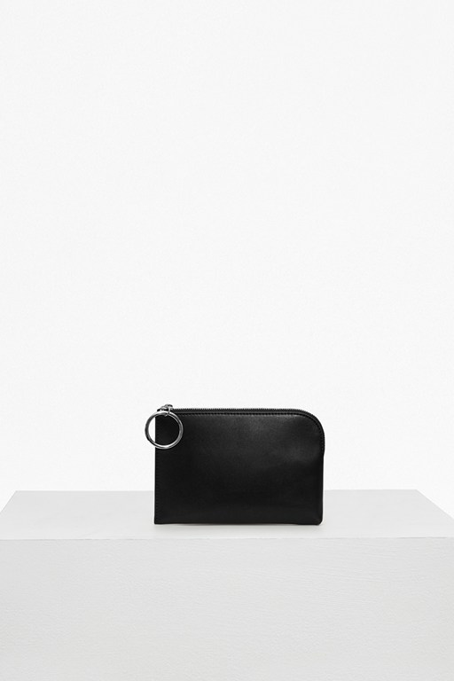 Complete the Look Oversized Buckle Solid Wallet