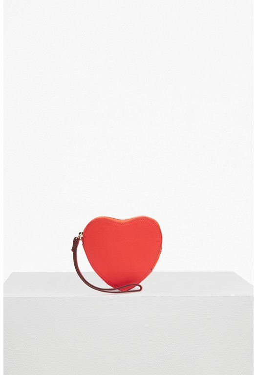 Core Heart Faux Leather Coin Purse