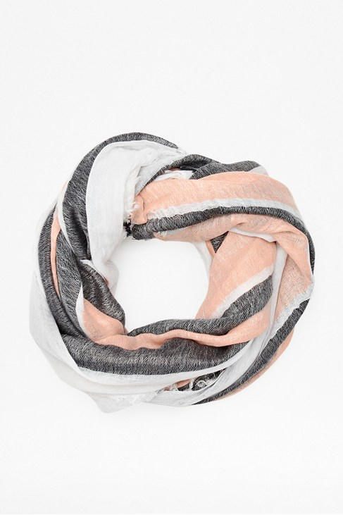 Helen Raw Edged Scarf