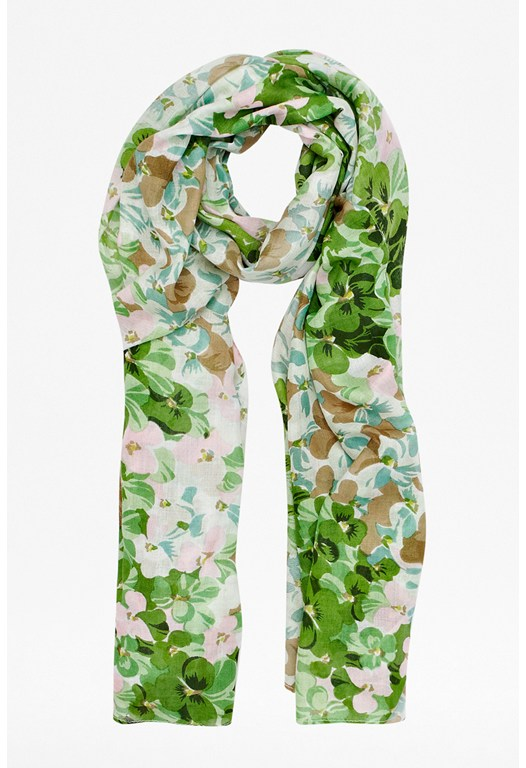 Isis Floral Scarf