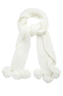 Triple Snowball Scarf