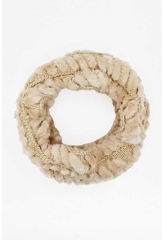 Holly Faux Fur Snood