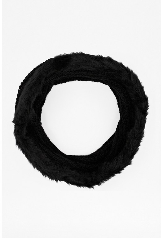 Libby Faux Fur Snood