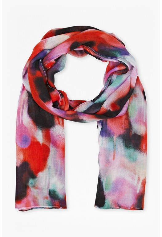 Brooke Graffiti Scarf