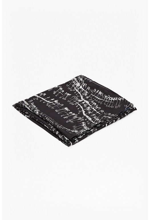 Anarchy Pin Silk Scarf