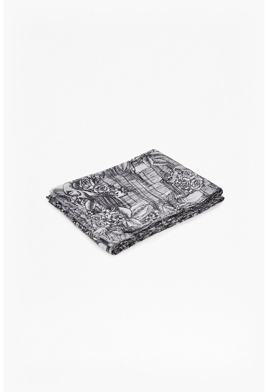 Leticia Tattoo Printed Scarf