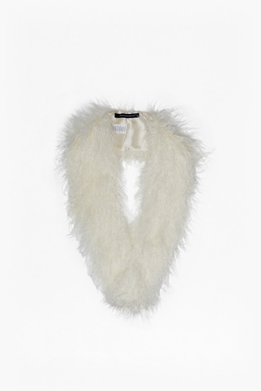 Complete the Look Portia Faux Mongolian Fur Collar